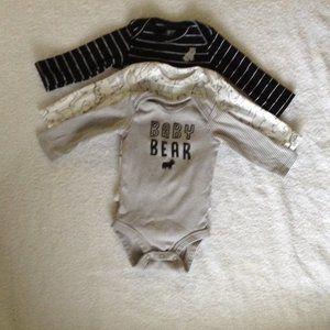 Carter's 3Piece BodySuit Long Sleeve 3Months